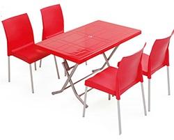 فروش میز ناهارخوری پلاستیکی