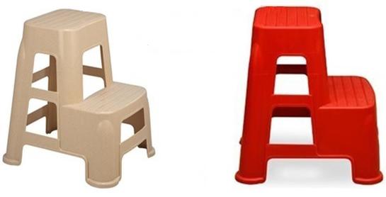 انواع چهارپایه پلاستیکی پله دار