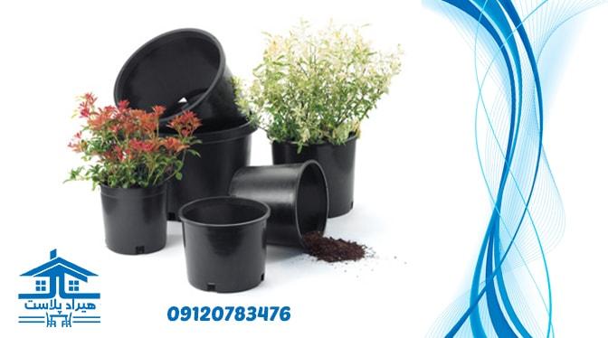 فروش گلدان پلاستیکی گلخانه