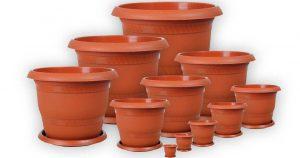 انواع گلدان پلاستیکی گلخانه