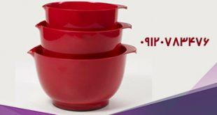 ظروف پلاستیکی آشپزخانه قرمز